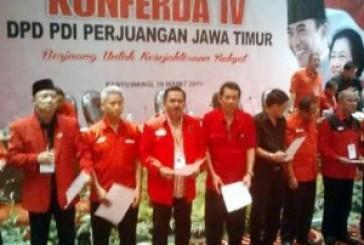 Kusnadi Nahkoda Baru DPD PDIP Jatim
