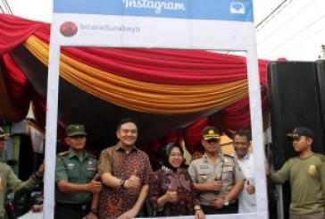 Dolly Saiki Fest 2017 Diresmikan Walikota Risma Bersama Kapolrestabes dan Dandim