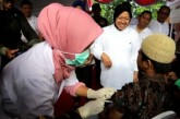 """Walikota Risma : """"Ayo Surabaya Bebas Difteri,  Selamatkan Anak – Anak Dengan ORI Difteri 2018 !"""""""