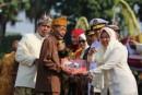 Rampak Remo Diiringi Gamelan Suroboyo Marakkan Resepsi HJKS Ke-725 Di Taman Surya
