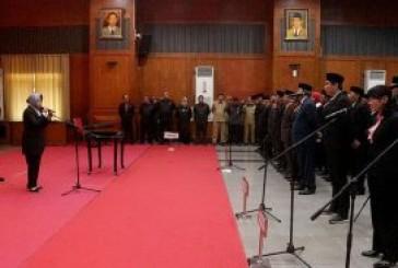 Wali Kota Risma Lantik 350 Pejabat Pemkot Surabaya