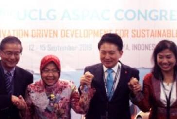 Wali Kota Surabaya Tri Rismaharini Kandidat Tunggal Presiden UCLG ASPAC