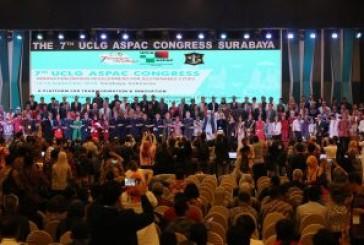 Kongres UCLG ASPAC ke-7 Resmi Dibuka di Surabaya