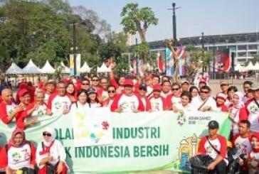 Sambut Asian Games 2018,  Kemenperin & Pelaku Industri Kerja Bhakti di Area GBK