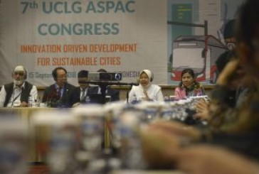 Pra Forum UCLG ASPAC, Wali Kota Risma Paparkan Pembangunan Taman Hingga Inovasi Pemerintah Kota.