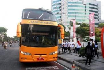 Dua Minggu Uji Trayek, Bus Double Deck Pemkot Surabaya Gratis