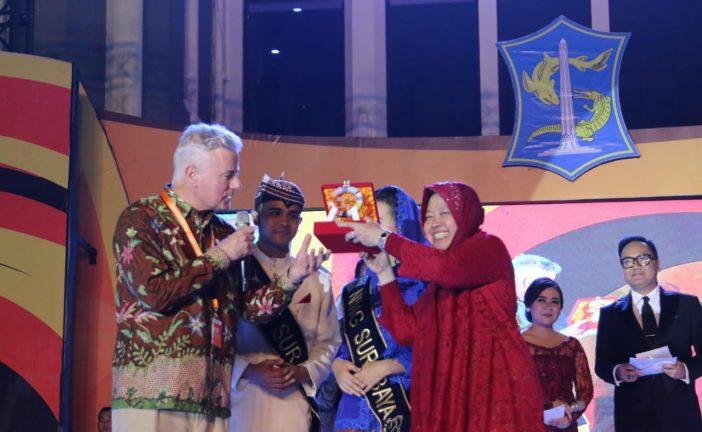 Wellcome Dinner Delegasi SNS di Balai Kota Surabaya