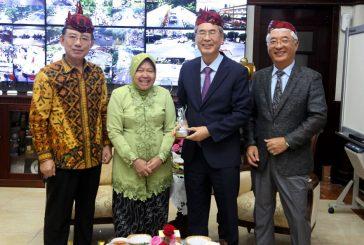 Wali Kota Risma Diusulkan Jadi Presiden TPO Asia Pacific