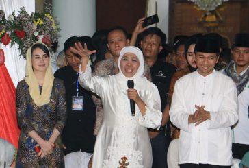 Resmi Dilantik Jadi Gubernur Jawa Timur, Khofifah Janji Entaskan Kemiskinan