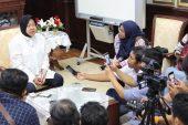 Wali Kota Risma – Gubernur Khofifah Bicarakan Soal Pengelolaan SMA/SMK Dilimpahkan ke Pemkot