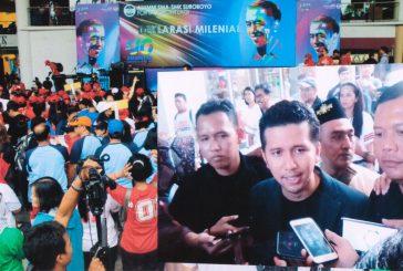 "Alumni SMA/SMK Suroboyo, Serukan ""Jokowi Lagi"""