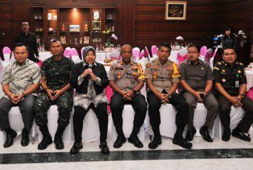 Forpimda Jamin Keamanan Prosesi Pemilu 2019 Di Surabaya