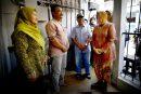 Wali Kota Risma Semangati Keluarga Petugas Linmas KPPS Yang Meninggal
