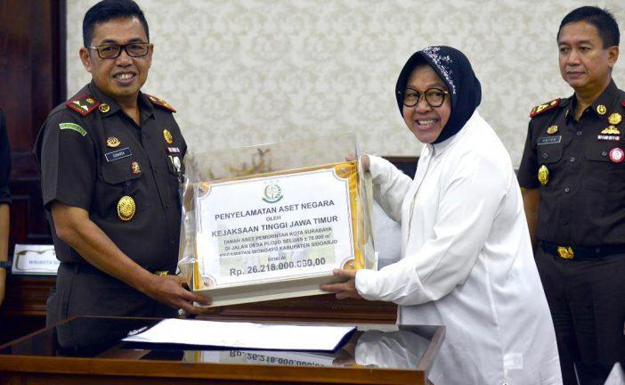 Sinergi Pemkot Surabaya dan Kejati Jatim, Selamatkan Aset Hingga Rp 370 Miliar