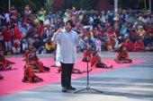"""Atraksi """"Sawunggaling Anak Dunia"""" Tanda Pemkot Surabaya Lestarikan Kesenian Rakyat"""