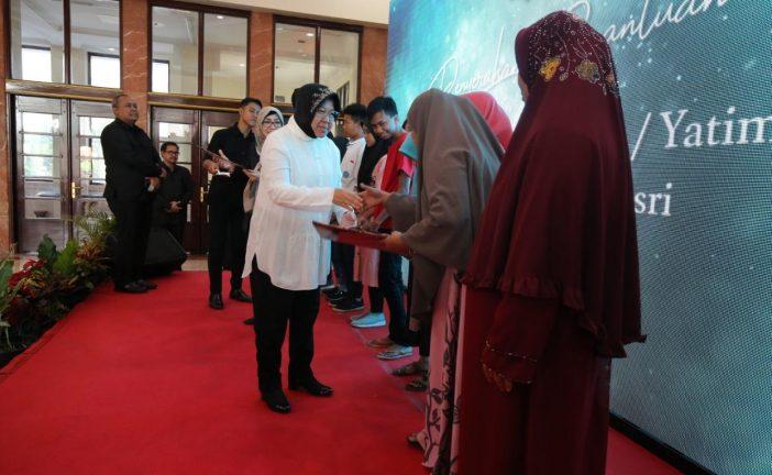 Warga Eks Lokalisasi Tambak Asri Dapat Bantuan Dari Pemkot Surabaya