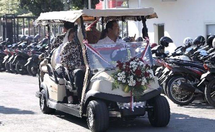Wali Kota Semarang Luncurkan Mobil Listrik Pelayanan Pasien RSUD Wongsonegoro