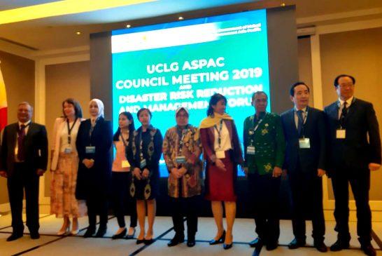 Di Forum UCLG ASPAC Filipina, Risma Paparkan Manajemen Resiko Bencana