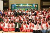 Dari Jakarta, Gubernur Khofifah Lepas Atlet Jatim Untuk Berlaga di Sea Games Manila 2019