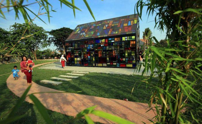 Belum Sepenuhnya Rampung, Taman Mozaik jadi Primadona Pengunjung