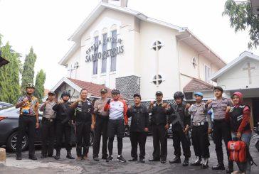 Kapolda Jateng sambil Gowes Cek gereja di Solo