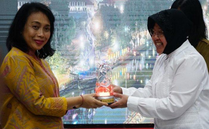 Menteri IGA Bintang Apresiasi Program PPPA Surabaya Jadi Role Model Nasional