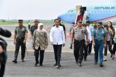Gubernur Khofifah Sambut Kunjungan Kerja Presiden Jokowi di Jatim