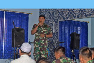 Awali Tahun 2020, Yontaifib 2 Marinir Laksanakan Jam Komandan Dan Istighosah