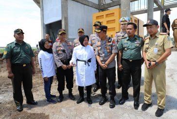 Siaga Antisipasi Banjir, Wali Kota Risma Dan Kapolrestabes Cek Rumah Pompa Sumber Rejo