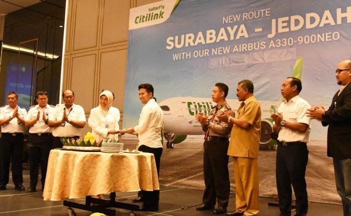 Citilink Rute Baru Surabaya – Jedah, Mudahkan Umroh Jamaah Jatim