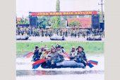 Serunya Lomba Dayung Prajurit Yontaifib 2 Marinir