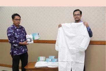 Support RS Unair Atasi Covid-19, Pemkot Surabaya Bantu APD