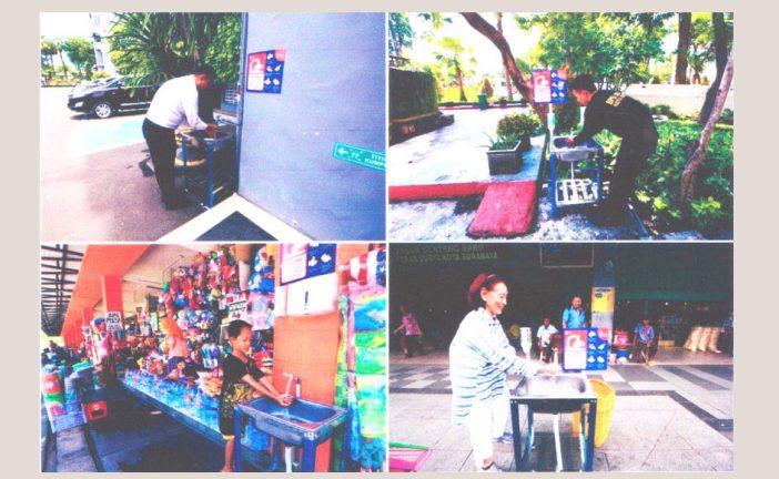 Ratusan Wastafel Portable Dipasang Di Sekolah Dan Fasum, Demi Antisipasi Covid-19