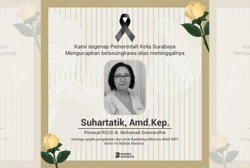 Pemkot Surabaya Sampaikan Belasungkawa Mendalam Atas Wafatnya Suhartatik, Amd.Kep. – Perawat RSUD dr Soewandhie