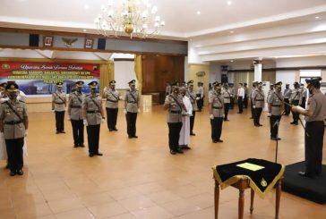 Kapolda Jateng Pimpin Sertijab PJU dan Kapolres Wilayah Jawa Tengah