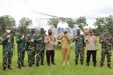 Kapolda Jateng dan Pangdam IV Diponegoro Tinjau Dapur Umum di Cilacap
