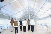 Angka Positif Covid-19 Jatim Melonjak, Gubernur Khofifah Minta RS Lapangan Covid-19 Jatim Segera Dibuka