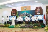 Kapolda Jatim, Irjen Pol Dr. Mohammad Fadil Imran M.Si, Hadiri Takbir Online Sambut Idul Fitri 1441 H di Grahadi