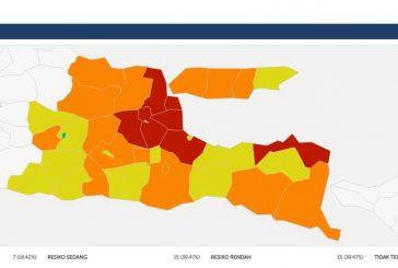 """Kota Madiun Zona Hijau Pertama Di Jawa Timur. Gubernur : """"Semoga Disusul Daerah Lain."""""""