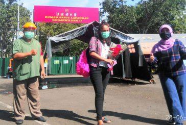 Total Pasien Sembuh Dari RS Lapangan Pemprov Jatim Capai 72,9 Persen