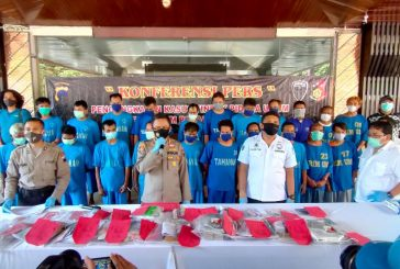 Dalam Sepekan Polda Jateng Amankan 67 Penjudi