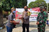 Kapolres Wonogiri Serahkan Paket Bantuan Bagi Pekerja Parekraf Terdampak Covid-19