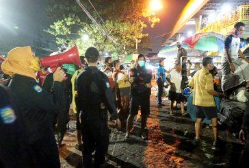 """Razia """"Wajib Pakai Masker"""" Di Pasar – Pasar Tadiosional, Dilakukan Berkala Siang – Malam"""