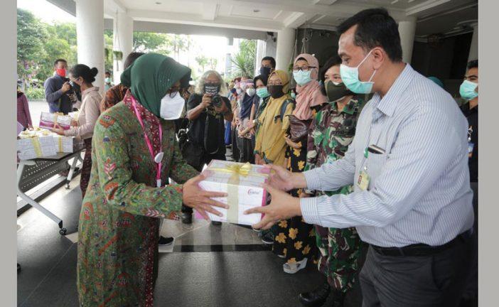 55 Rumah Sakit Terima Alat Rapid Test Bantuan Susulan, Dari Pemkot Surabaya