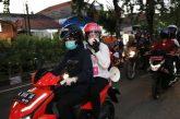 Pakai Motor, Wali Kota Risma, Kapolres dan Muspika Blusukan Sosialisasi Di Tandes