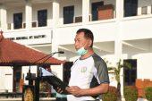 Danseskoad Brigjen TNI Dr. Anton Nugroho, MMDS, M.A. Pimpin Apel Organik Seskoad