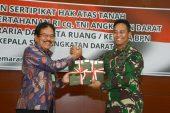 """TNI AD Resmi Terima Sertifikat Aset Tanah. Jenderal Andika : """"Yang Penting Semuanya Winners"""""""