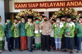 Nahdatul Ulama Cabang Solo Raya Temui Kapolresta Surakarta