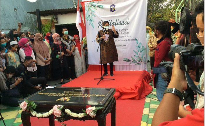 Wali Kota Risma Ungkap Alasan Revitalisasi Makam Asayyid Ali Asghor di Nderesmo