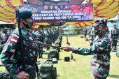 Pangdam IV/Diponegoro Pastikan Yonif Raider 400/BR Siap Berangkat Tugas